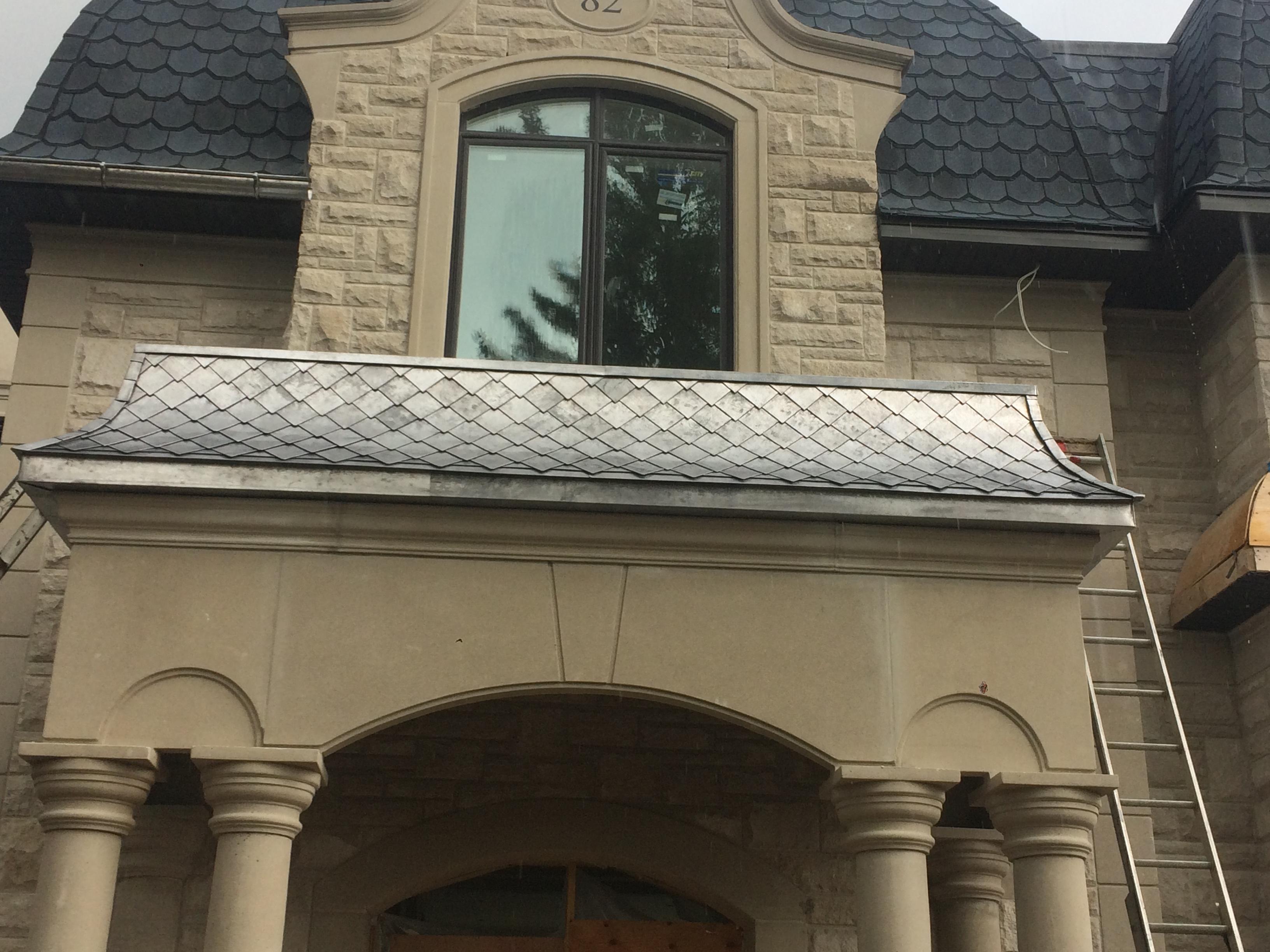 Diamond Shape Tiles Roof